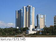 Жилой комплекс Ладья (2008 год). Редакционное фото, фотограф Абудеев Дмитрий / Фотобанк Лори
