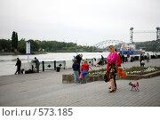 Купить «Набережная Дон», фото № 573185, снято 24 сентября 2008 г. (c) Олег Кугаев / Фотобанк Лори