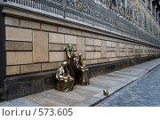 Купить «Дрезден. Стена «Шествие князей»», фото № 573605, снято 11 июля 2008 г. (c) Артем Абрамян / Фотобанк Лори