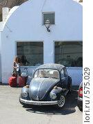 Купить «Санторини, старый автомобиль», эксклюзивное фото № 575029, снято 11 августа 2008 г. (c) Яна Королёва / Фотобанк Лори