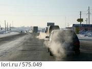 На зимней трассе (2008 год). Редакционное фото, фотограф Gagara / Фотобанк Лори