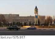 Купить «Площадь в Подольске», фото № 575917, снято 13 ноября 2008 г. (c) Цветков Виталий / Фотобанк Лори