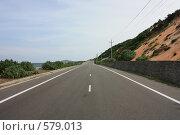 Дорога вдоль моря (2008 год). Стоковое фото, фотограф Иванов Юрий / Фотобанк Лори