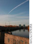 След самолета над рекой. Стоковое фото, фотограф Иванов Юрий / Фотобанк Лори