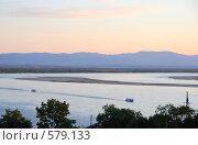 Купить «Река Амур. Хабаровск», эксклюзивное фото № 579133, снято 4 сентября 2008 г. (c) Катерина Белякина / Фотобанк Лори