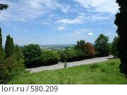 Купить «Вид с горы Кизиловка на город Нальчик», фото № 580209, снято 22 июня 2008 г. (c) Александр Тараканов / Фотобанк Лори