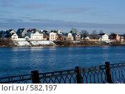 Купить «Набережная Волги. Тверь», фото № 582197, снято 22 ноября 2008 г. (c) Александр Чистяков / Фотобанк Лори