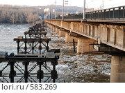 Купить «Кузнецкий мост. Город Новокузнецк», фото № 583269, снято 9 апреля 2007 г. (c) Андрей Жарков / Фотобанк Лори