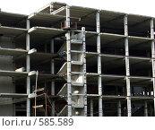 Купить «Строительство», фото № 585589, снято 31 июля 2007 г. (c) Estet / Фотобанк Лори