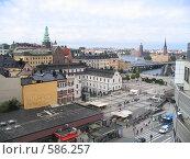 Стокгольм. Вид сверху (2005 год). Стоковое фото, фотограф Anna Marklund / Фотобанк Лори