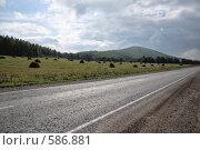 Купить «Башкирия. Трасса М-5», фото № 586881, снято 11 сентября 2008 г. (c) Ivan I. Karpovich / Фотобанк Лори