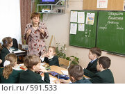 Купить «Урок природоведения», эксклюзивное фото № 591533, снято 26 февраля 2006 г. (c) Дмитрий Неумоин / Фотобанк Лори