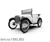 Купить «Ретроавтомобиль», иллюстрация № 593353 (c) ИЛ / Фотобанк Лори