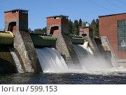 Купить «Лесогорская ГЭС (Ленинградская область)», фото № 599153, снято 17 мая 2007 г. (c) Александр Секретарев / Фотобанк Лори