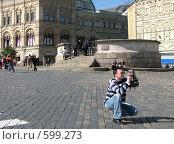 Купить «Москва. Красная площадь», эксклюзивное фото № 599273, снято 8 июня 2008 г. (c) lana1501 / Фотобанк Лори