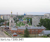 Купить «Казанская церковь в Воронеже», фото № 599941, снято 11 июня 2005 г. (c) Дмитрий Сарычев / Фотобанк Лори