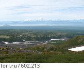Купить «Камчатка, панорама», фото № 602213, снято 15 июля 2007 г. (c) Легкобыт Николай / Фотобанк Лори