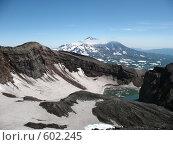Купить «Камчатка, вулкан Горелый», фото № 602245, снято 20 июля 2007 г. (c) Легкобыт Николай / Фотобанк Лори