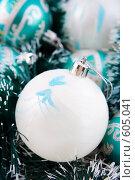 Купить «Рождественские украшения», фото № 605041, снято 4 декабря 2008 г. (c) Ольга Красавина / Фотобанк Лори