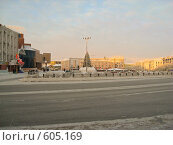 Купить «Зимний Якутск. Центр города.», фото № 605169, снято 23 декабря 2007 г. (c) Афанасьев Юрий / Фотобанк Лори