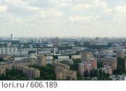 Купить «Москва с высоты», фото № 606189, снято 20 июня 2008 г. (c) Дмитрий Тарасов / Фотобанк Лори