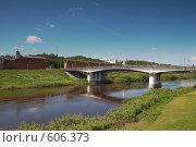 Купить «Смоленск мост через Днепр,крепостные стены», фото № 606373, снято 13 июня 2008 г. (c) Брагин Алексей Георгиевич / Фотобанк Лори