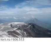 Купить «Камчатка, кратер вулкана (Плоский Толбачик)», фото № 606513, снято 24 июля 2007 г. (c) Легкобыт Николай / Фотобанк Лори