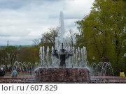 Фонтан (2007 год). Редакционное фото, фотограф Михаил Треусов / Фотобанк Лори