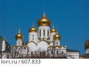 Купить «Сияние куполов», фото № 607833, снято 15 апреля 2007 г. (c) Михаил Треусов / Фотобанк Лори