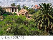 Храмы Афин (2007 год). Стоковое фото, фотограф Кирилл Дорофеев / Фотобанк Лори