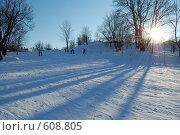 Купить «Зимой на горе», фото № 608805, снято 10 февраля 2007 г. (c) Игорь Бунцевич / Фотобанк Лори