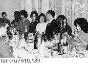 Купить «Начало семидесятых - встреча Нового года», фото № 610189, снято 19 августа 2018 г. (c) Ларина Татьяна / Фотобанк Лори
