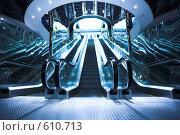 Купить «Эскалатор. Мост Багратион. Москва», фото № 610713, снято 26 мая 2008 г. (c) Бабенко Денис Юрьевич / Фотобанк Лори