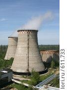 Купить «Градирни Северной ТЭЦ-21. Санкт-Петербург», фото № 611733, снято 21 мая 2007 г. (c) Александр Секретарев / Фотобанк Лори