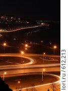 Купить «Ночной город», фото № 612213, снято 13 ноября 2008 г. (c) Михаил Коханчиков / Фотобанк Лори