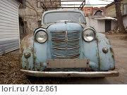 Купить «Москвич 401 (2)», фото № 612861, снято 6 декабря 2008 г. (c) Андреев Виктор / Фотобанк Лори