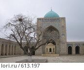 Купить «Узбекистан, Бухара», фото № 613197, снято 4 января 2008 г. (c) Легкобыт Николай / Фотобанк Лори
