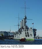 """Крейсер """"Аврора"""". Санкт-Петербург (2008 год). Редакционное фото, фотограф A Большаков / Фотобанк Лори"""
