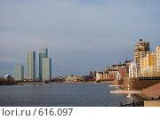 Набережная в Астане. Стоковое фото, фотограф Григорий Дашкин / Фотобанк Лори
