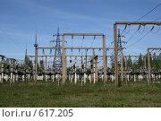 Купить «Трансформаторная подстанция Северной ТЭЦ-21. Санкт-Петербург», фото № 617205, снято 21 мая 2007 г. (c) Александр Секретарев / Фотобанк Лори