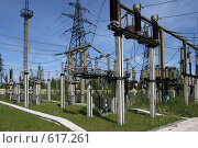 Купить «Трансформаторная подстанция Северной ТЭЦ-21. Санкт-Петербург», фото № 617261, снято 21 мая 2007 г. (c) Александр Секретарев / Фотобанк Лори