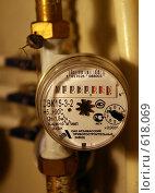 Купить «Счётчик водомерный», фото № 618069, снято 15 декабря 2008 г. (c) Окунев Александр Владимирович / Фотобанк Лори