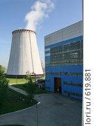 Купить «Градирня Южной ТЭЦ-22. Санкт-Петербург», фото № 619881, снято 21 мая 2007 г. (c) Александр Секретарев / Фотобанк Лори