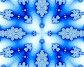 Синяя снежинка, иллюстрация № 622169 (c) Parmenov Pavel / Фотобанк Лори