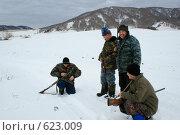Охотничья передышка (2008 год). Редакционное фото, фотограф Стародубов Юрий / Фотобанк Лори