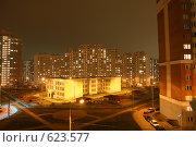 Купить «Обычный московский двор», фото № 623577, снято 14 декабря 2008 г. (c) Astroid / Фотобанк Лори