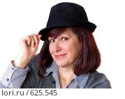 Женщина в шляпе. Стоковое фото, фотограф Арина Соколова / Фотобанк Лори