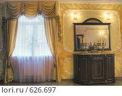 Купить «Фрагмент интерьера комнаты жилого дома», фото № 626697, снято 23 сентября 2008 г. (c) Гребенников Виталий / Фотобанк Лори