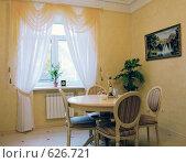 Купить «Фрагмент интерьера кухни жилого дома», фото № 626721, снято 23 сентября 2008 г. (c) Гребенников Виталий / Фотобанк Лори