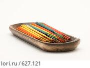 Купить «Ароматические палочки», фото № 627121, снято 21 декабря 2008 г. (c) Бутенко Андрей / Фотобанк Лори
